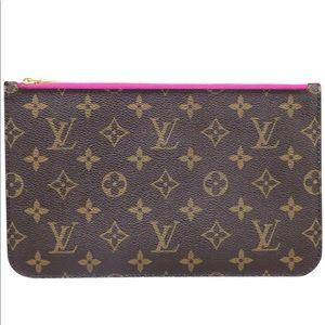 Louis Vuitton monogram Neverfull pouch